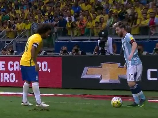 Бразилия разгромила Аргентину в матче квалификации ЧМ-2018