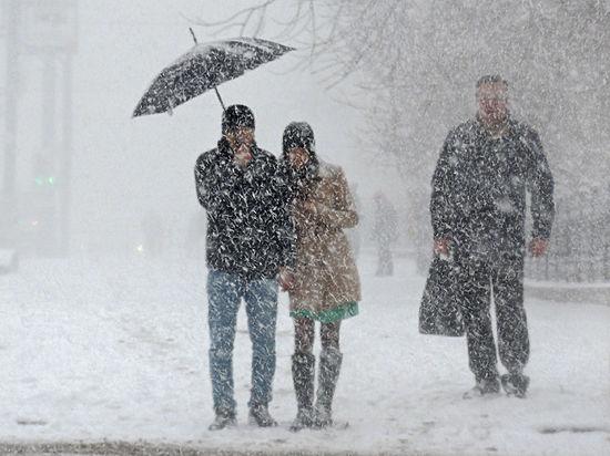 В Москве наступил обещанный Снегопокалипсис