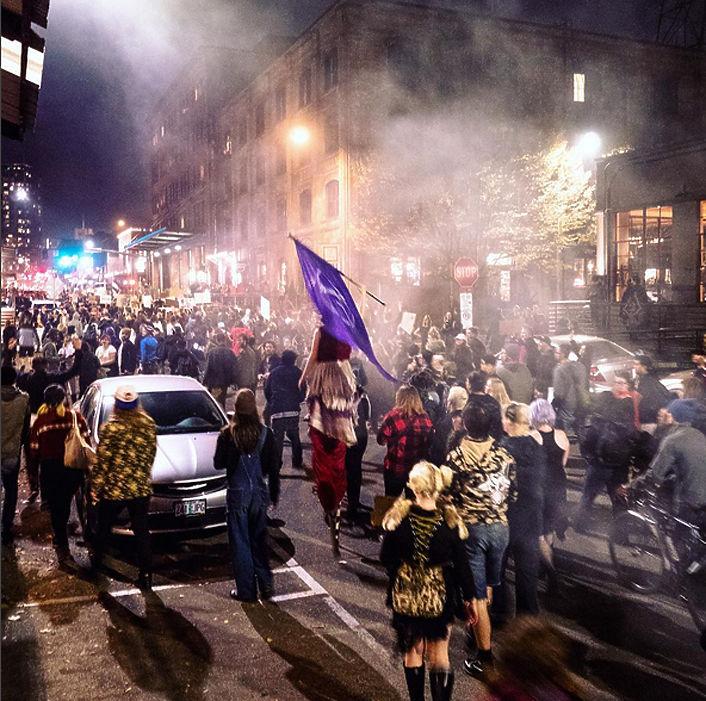 Во время беспорядков в Портленде задержаны 26 человек