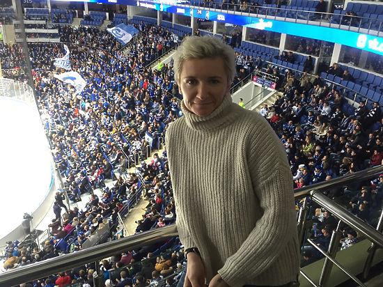Диана Арбенина увидела суперсерию буллитов в Континентальной хоккейной лиге