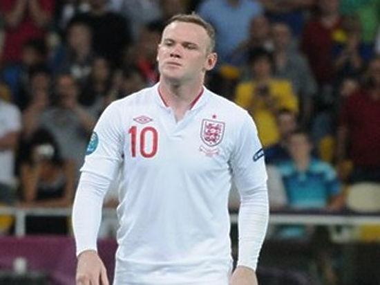 Капитана сборной Англии Руни отчислили из команды за пьянку