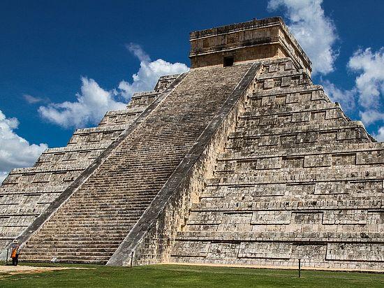 Ученые обнаружили пирамиду внутри пирамиды всвященном городе майя
