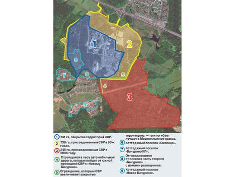 Госбезопасность в Бутовском лесу: разведка предлагает шпионам богатый выбор недвижимости