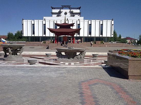 ВТуве осквернили буддистский молитвенный барабан