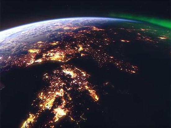 В интернете появилось первое панорамное видео, снятое на земной орбите