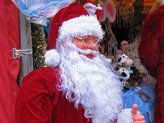 Деда Мороза похитили скрыльца московского салона красоты
