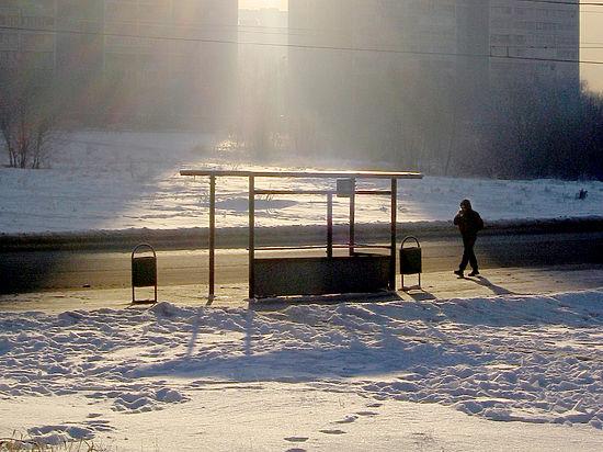 Кондуктор в Екатеринбурге высадила маленькую девочку на 30-градусный мороз