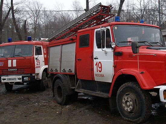 Пожар в Кремле: в туалете ГКД замкнуло проводку