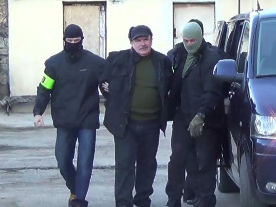 Опубликовано видео задержания экс-сотрудника Черноморского флота, шпионившего для Украины