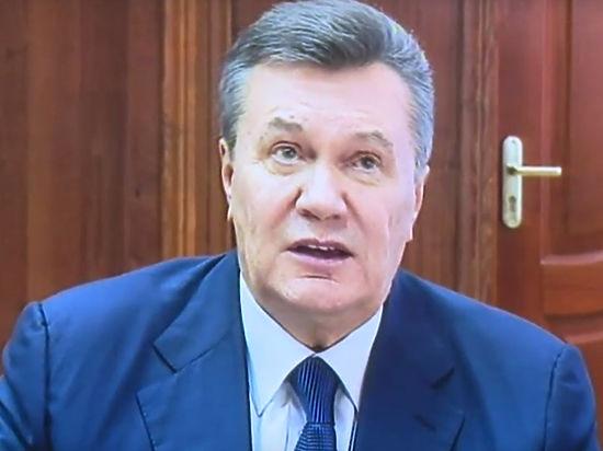 Видеодопрос Януковича обубийствах наМайдане был сорван