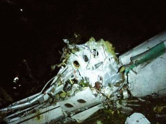 На месте крушения самолета с бразильскими футболистами нашли несколько выживших