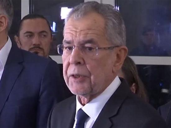 72-летний Александр Ван дер Беллен избран президентом Австрии
