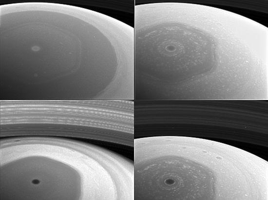 Зонд «Кассини» отправил на Землю уникальные снимки Сатурна