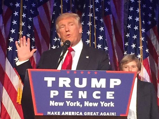 Дональд Трамп стал «Человеком года» поверсии Time