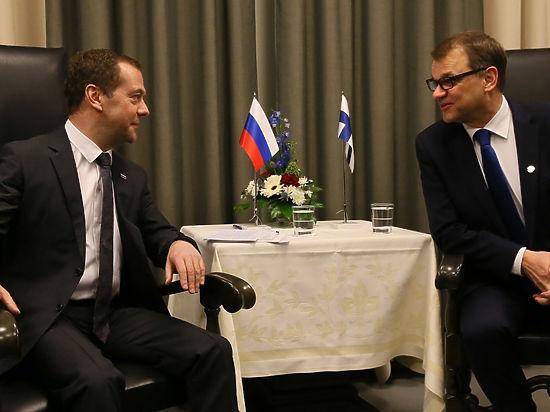 bd3129212 3168426 - Медведев обсудил с премьером Финляндии «Северный поток — 2»