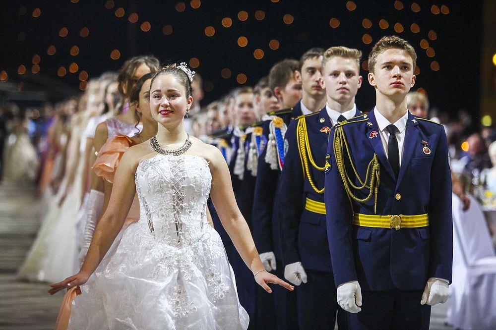 От кадриля до вальса: в Кремле состоялся Международный кадетский бал