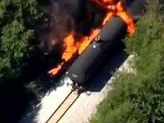 Пять человек стали жертвами крушения поезда с пропаном в Болгарии