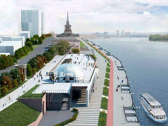 В Красноярске прошли публичные слушания по строительства ТЦ у речвокзала