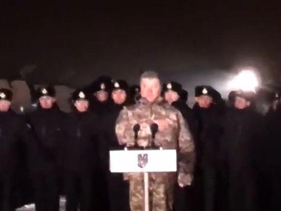 Порошенко объявил о«временной украинской оккупации»— Оговорка поФрейду