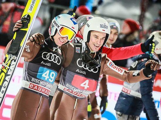 Камил Стох с разрушенной накануне 3-го этапа ключицей одержал победу «Турне четырех трамплинов»!