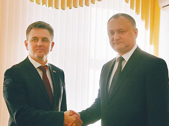 Президенты Приднестровья и Молдовы встретились впервые за 8 лет