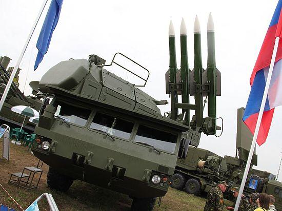 Вроссийскую армию начали поступать «Буки», неимеющие аналогов вмире