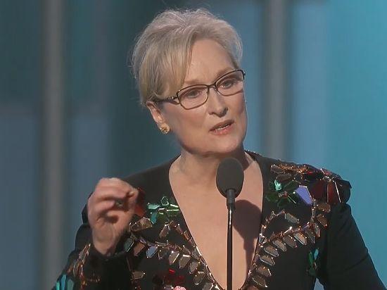 Звезда Голливуда раскритиковала Трампа навручении премии «Золотой глобус»