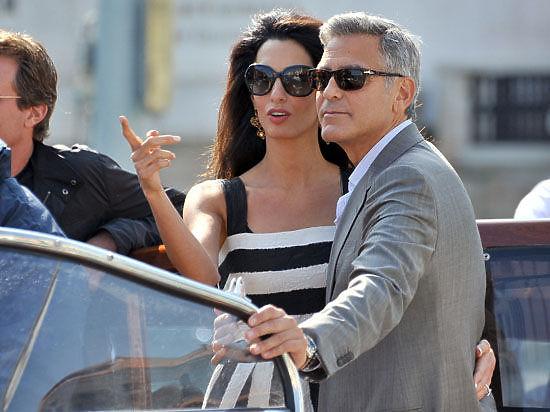 Джордж Клуни и Амаль Аламуддин станут родителями двойни