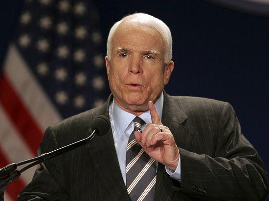 Сенатор Маккейн: Россия стала главным игроком на Ближнем Востоке