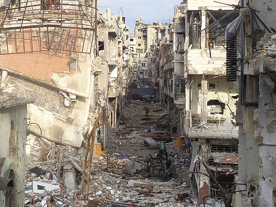 Сирия передала обобнаружении вАлеппо массового захоронения солдат вшколе