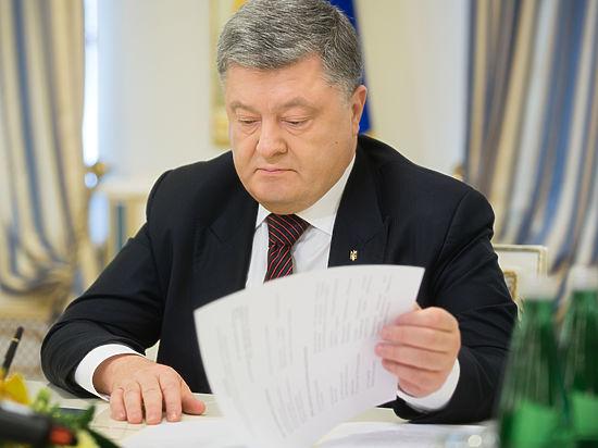 Петр Порошенко отказался общаться сроссийскими корреспондентами