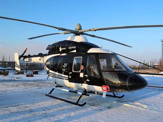 В якутских морозах испытывают новый вертолет