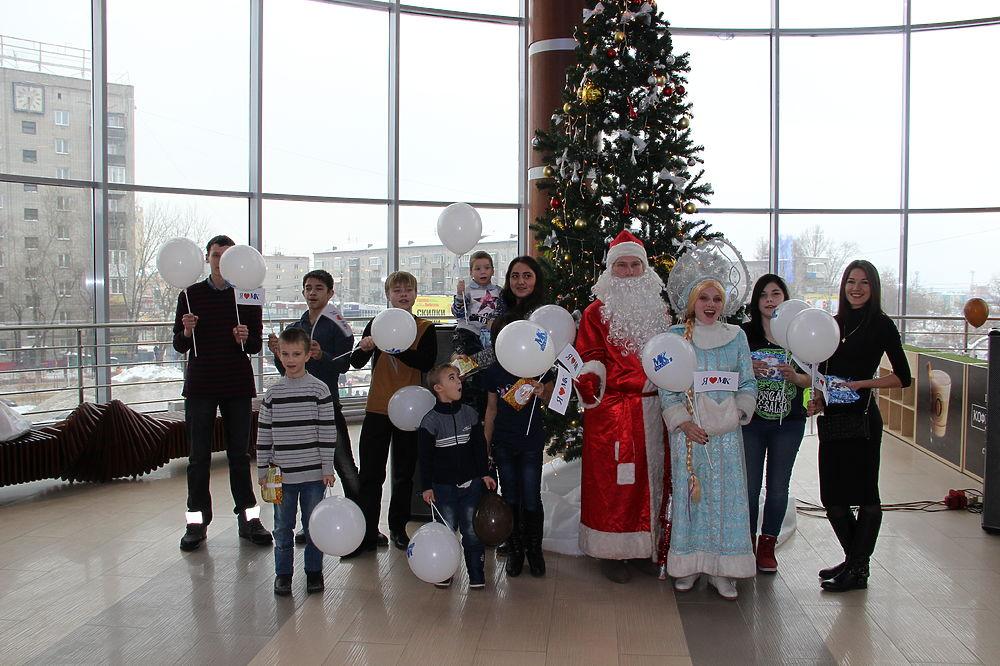 Фоторепортаж: детский праздник в Барнауле, организованный «МК» и «My Coffee»