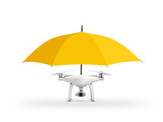 Ученые учат зонт-дрон «самостоятельно» следовать за владельцем