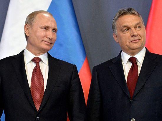 Путин: РФ приложит все силы для надежной поставки газа вВенгрию
