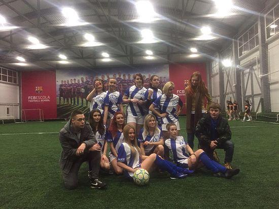 Наша команда в Женской футбольной лиге стартовала с победы