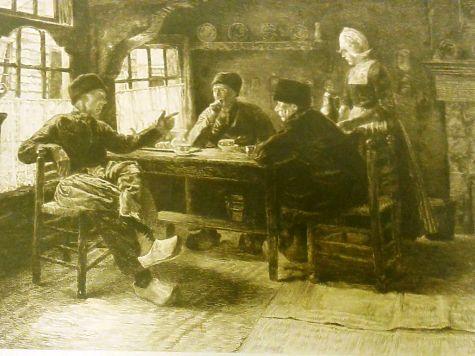 Изъятые в «Домодедово» картины написал французский художник Беноит-Леви