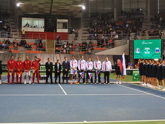 Кубок Дэвиса: сборная России проигрывает Сербии со счетом 0:2