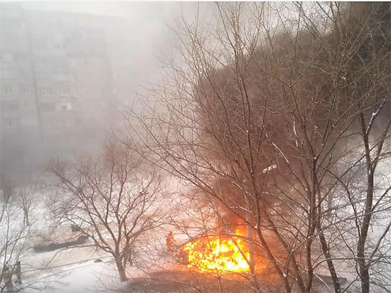 В Луганске взорвали автомобиль начальника управления милиции ЛНР