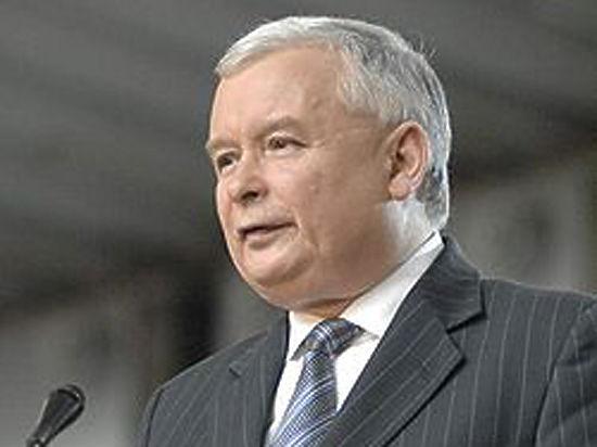 Качиньский порекомендовал Украине неидти вЕвропу под флагом национализма