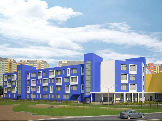 В Некрасовке открывается школа будущего