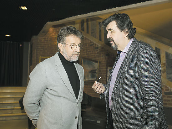 Золотовицкий и Ярмольник рассказали о будущем Дома актера