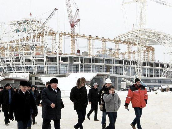 Владимир Волков провел совещание на «Мордовия Арене»