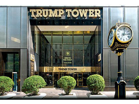 Как нынешний президент осваивал Нью-Йорк