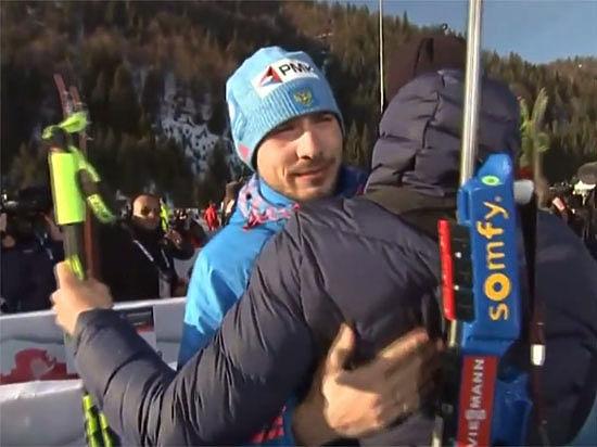 Шипулин и Фуркад пожали друг другу руки после спринта