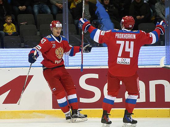 Россия - Чехия: онлайн-трансляция матча хоккейного Евротура