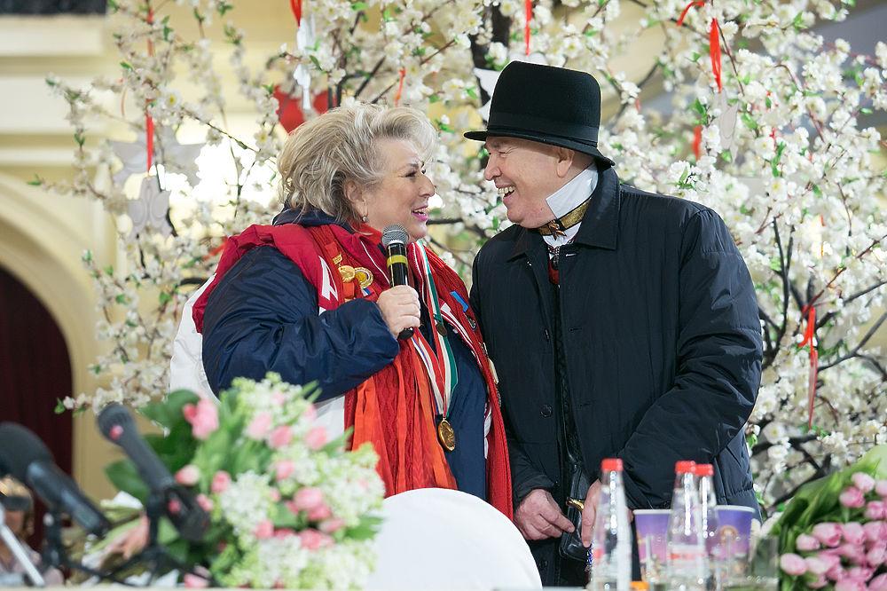 Всемирно известный советский и российский тренер по фигурному катанию Татьяна Тарасова отметила 70-летие