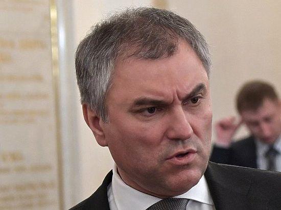 Посол Израиля пока не обращался: Володин прокомментировал скандальные высказывания Милонова