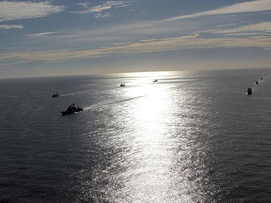 Русский корабль-разведчик увидели уберегов Вирджинии
