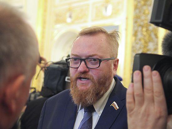 Милонов признался, что покупает вФинляндии санкционные продукты